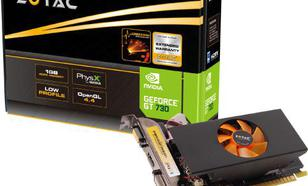 Zotac GeForce GT 730 Low Profile 2GB GDDR5 (64 bit) VGA, DVI, HDMI (ZT-71101-10L)