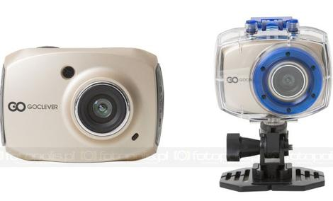 GOCLEVER DVR SPORT GOLD & SILVER - uniwersalne kamery sportowe