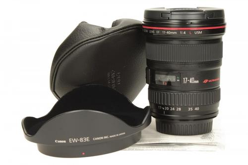 Canon EF 17-40MM 4.0L USM 8806A007
