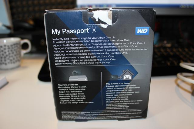 WD My Passport X - Test