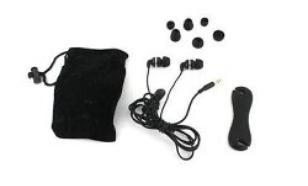 SoundMAGIC PL12 Black Sluchawki Dokanalowe