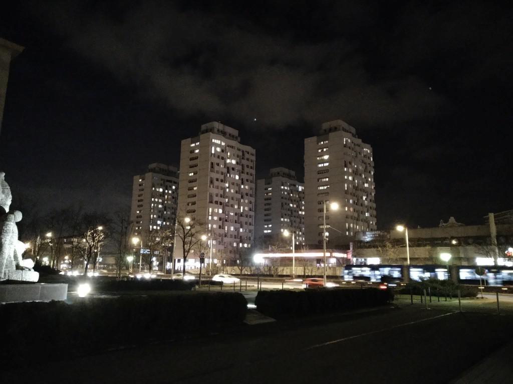 Zdjęcie wykonane w trybie nocnym