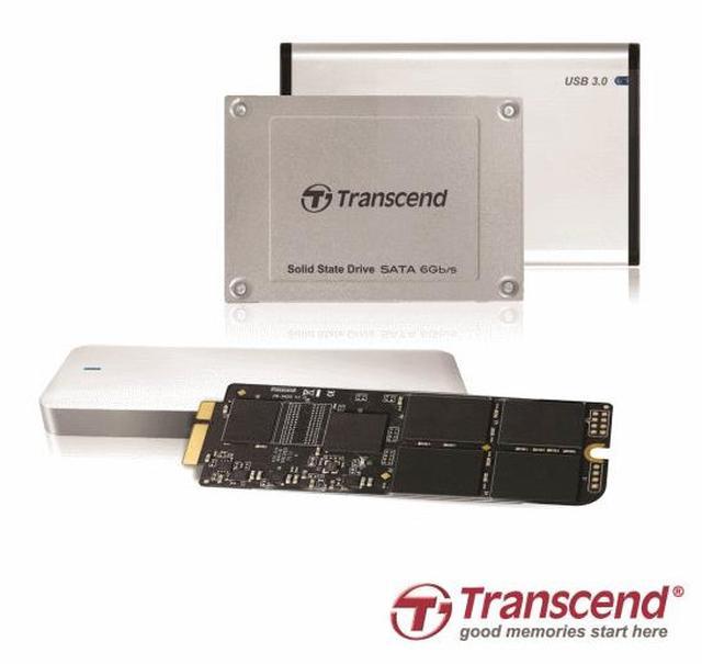 Transcend JetDrive - dyski SSD dla posiadaczy Apple MacPro