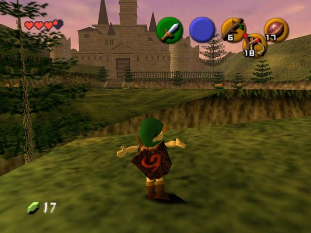 THE LEGEND OF ZELDA - OCARINA OF TIME (N64)