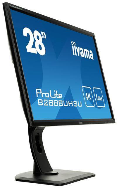 Rozdzielczość 4K Na Ekranie Monitora iiyama B2888USHU