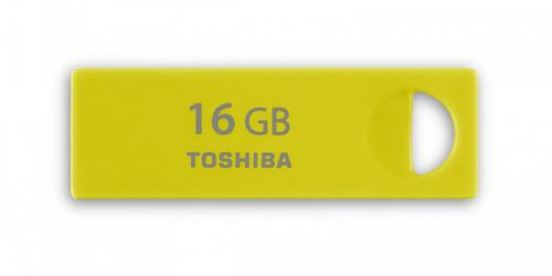 Toshiba ENSHU 16GB USB 2.0 YELLOW-GREEN