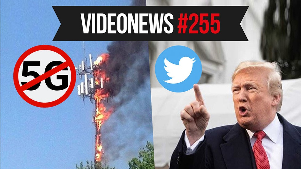 Petycje anty 5G, VR nowej generacji, Trump konta Twitter - VideoNews #255