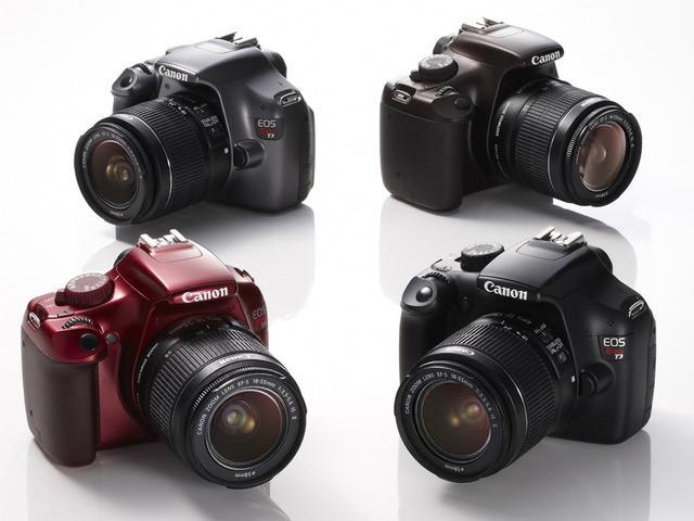 lustrzanka Canon