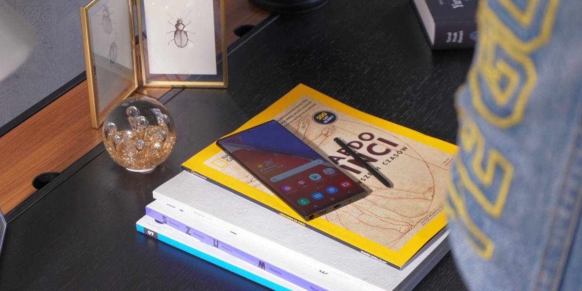 Samsung Galaxy Note 20 Ultra 5G posiada szkło Gorilla Victus