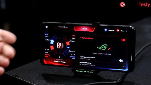 Asus ROG Phone II dostał szereg narzędzi poświęconych rozgrywce