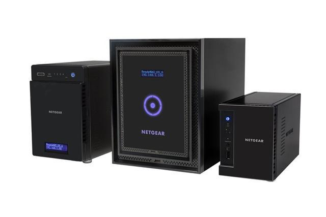 ReadyNAS firmy NETGEAR - proste przechowywanie