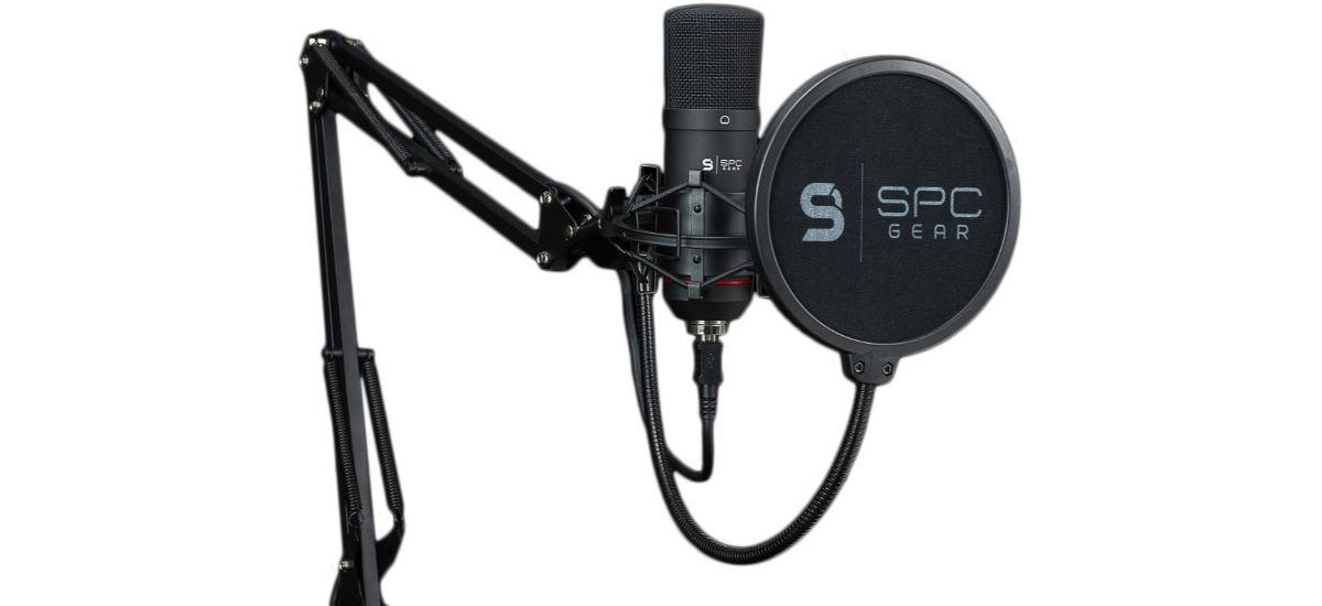 SPC Gear SM900 - mikrofon kardioidalny z ramieniem i pop-filtr