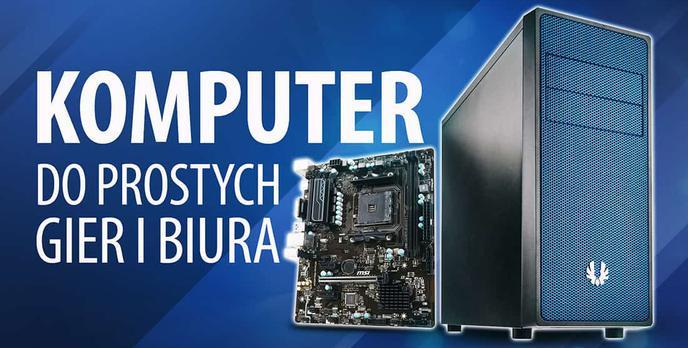 Test MSI A320M PRO-VH PLUS i Athlon 200GE – Komputer do prostych gier i biura