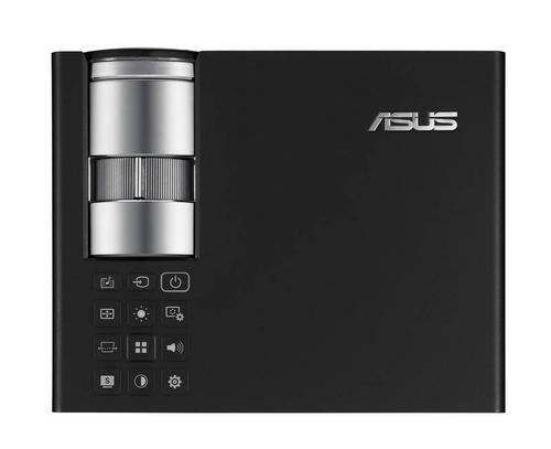 Asus B1M Ultrajasny bezprzewodowy projektor LED/DLP/WXGA/700AL/3500:1/2W speaker*2/D-sub, HDMI1.3(HDCP)/Composite Video/2.4kg/Black