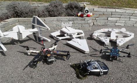 Gratka Dla Fanów Uniwersum Star Wars w Postaci Dronów!