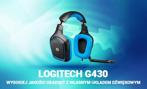 Logitech G430 - Wysokiej Jakości Headset z Własnym Układem Dźwiękowym