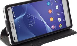 Krusell Etui WOW Drop Off do Sony Xperia Z3 Compact - czarny