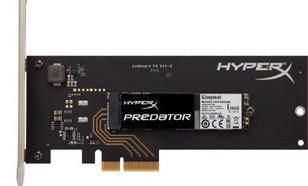 SSD HYPERX PREDATOR 240GB M.2 2280 PCIe Gen2.0 x4 1400/600MB/s + adapter HHHL