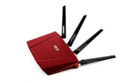 ASUS RT-AC87U RED - Funkcjonalny Router w Czerwonej Odsłonie!