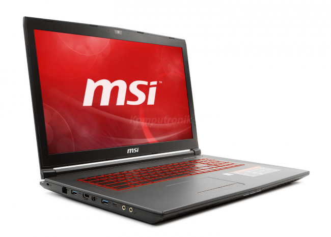 MSI GV72 7RE-1264XPL - 1TB SSD | 16GB