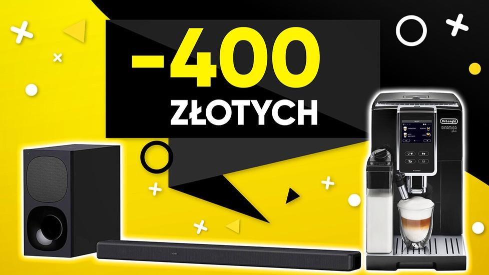 Taniej nawet o 400 złotych! Sprawdź prawdziwe promocje na AGD i audio!