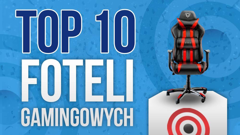 Najczęściej Kupowane Fotele Gamingowe – TOP 10!