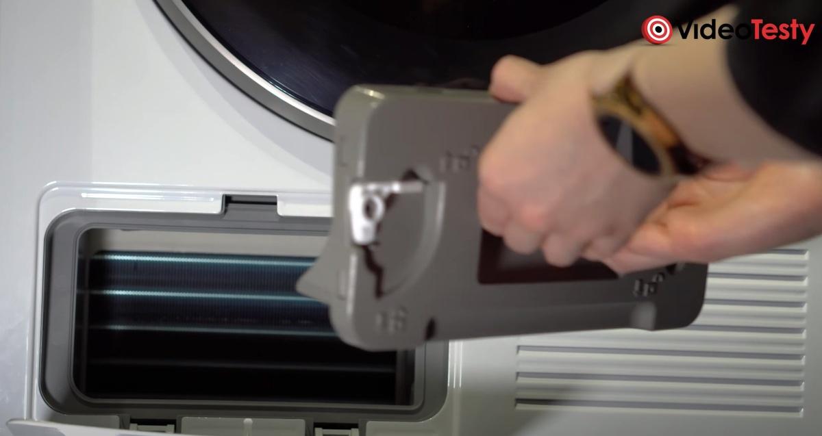 Pompa ciepła i skraplacz w suszarce Samsunga dają niezawodność pracy przez lata
