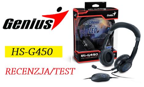 Genius HS-G450 - dobre i tanie słuchawki 7.1 dla graczy!