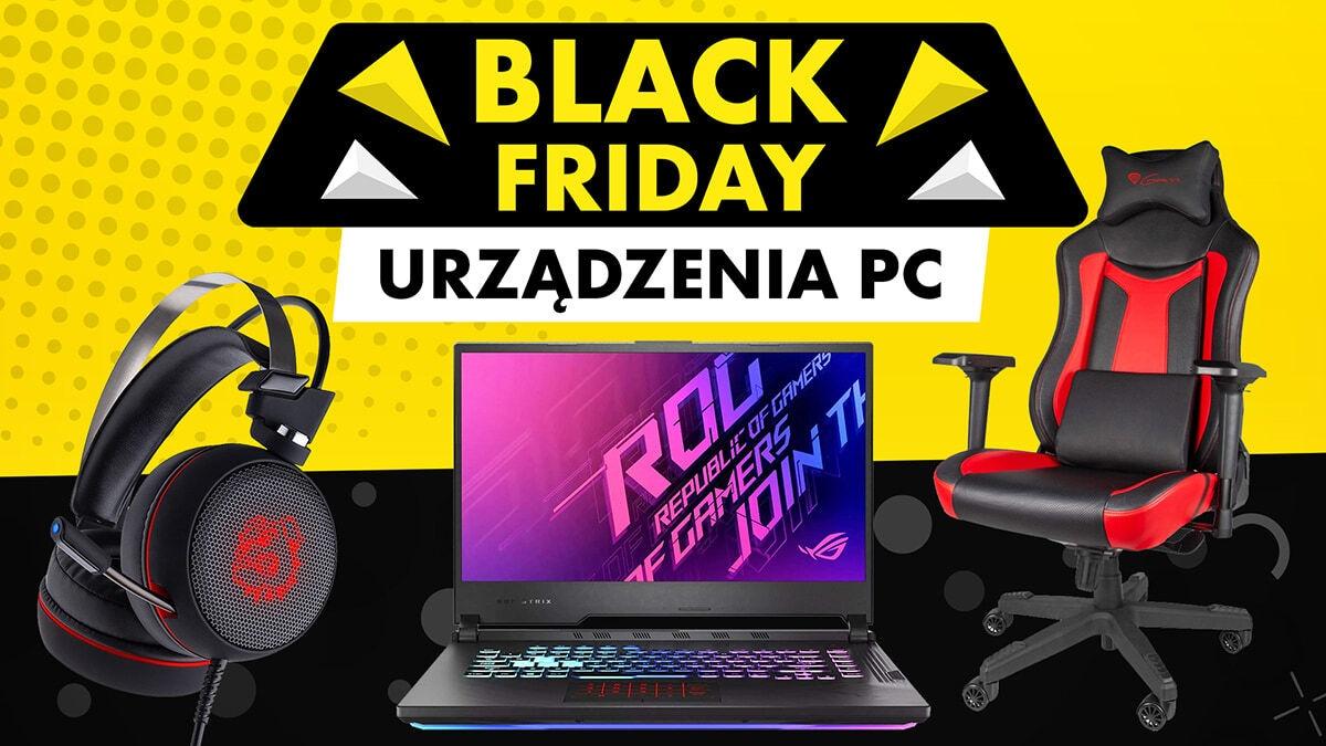 Urządzenia PC w promocji na Black Friday w Media Expert