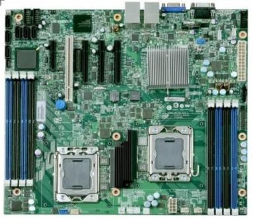 Intel S5500BCR płyta 8xDDR3/6xSATA2 PCI/PCI-Ex x8/x4-2
