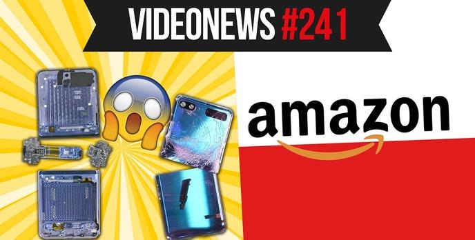 Kontrowersyjny Z Flip, Amazon w Polsce, nowe gogle XR - VideoNews #241
