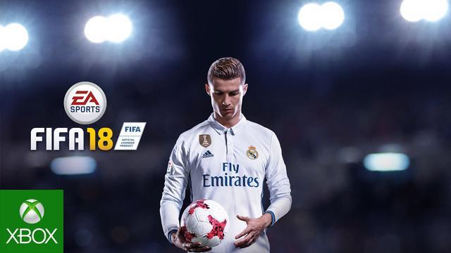 prezent na Święta do 300 zł - gra na xbox one FIFA 18
