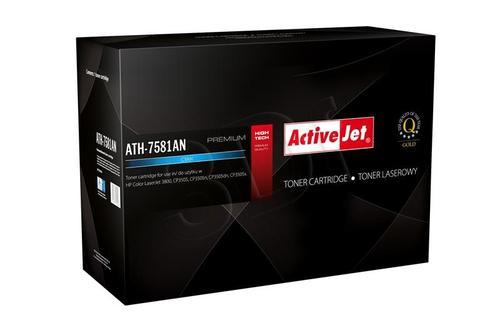 ActiveJet ATH-7581AN cyan toner do drukarki laserowej HP (zamiennik 503A Q7581A) Premium