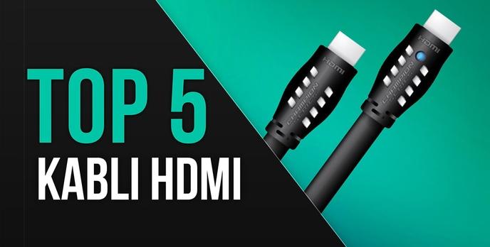 TOP 5 Kabli HDMI o Długości Co Najmniej 3 Metrów