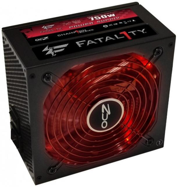 OCZ Fatal1ty 750W - unboxing świetnego zasilacza