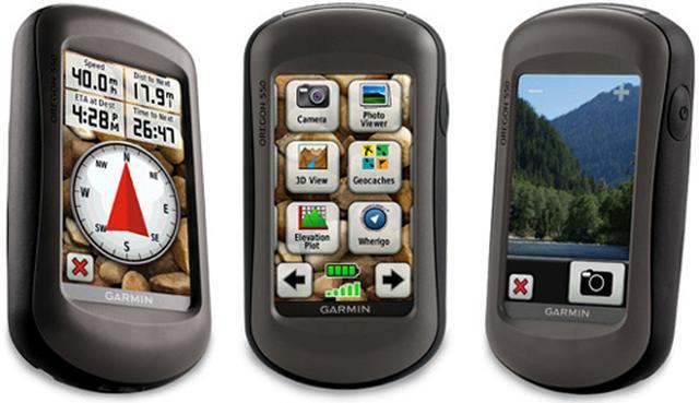 Garmin Oregon 550 - popularna nawigacja turystyczna