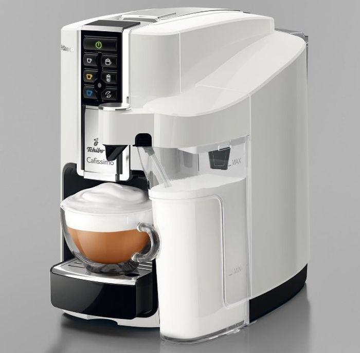 Saeco Tchibo Cafissimo Latte Bianco HD8603 z boku