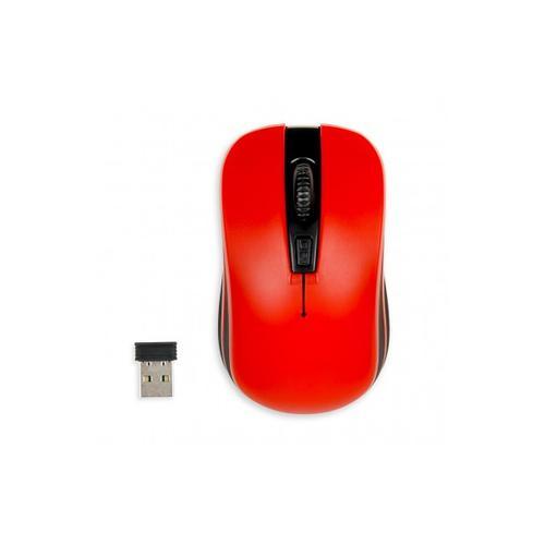 I-BOX bezprzewodowa optyczna Loriini Red 1600dpi czerwono-czarna