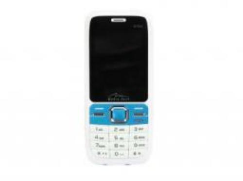 Telefon komórkowy Media-Tech Twin Phone, biało-niebieski (MT843WB)