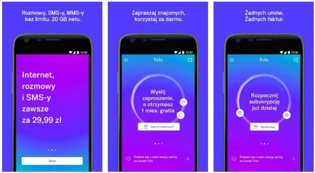 Aplikacja Folx