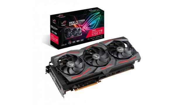 Karta graficzna ROG Strix Radeon RX 5700 XT została... dokręcona