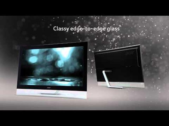 Acer T232HL i T272HL - dotykowy ekran i wiele funkcji
