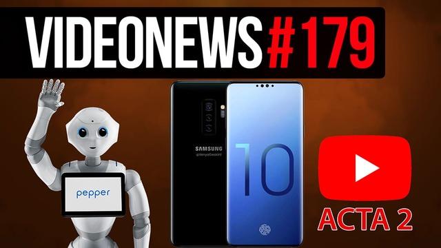Robot konduktor, stacja paliw dla leniwych, telefon kryptowalutowy - VideoNews #179