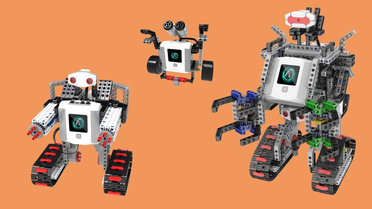 Oferta robotów Abilix jest szeroka i zawiera w sobie wiele konstrukcji
