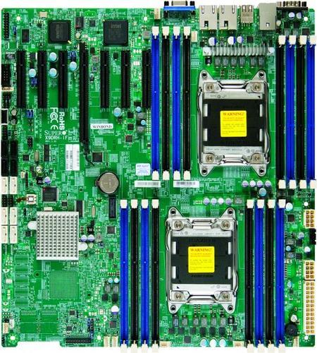 Supermicro Płyta serwerowa X9DRH-iF MBD-X9DRH-iF-O