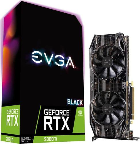EVGA GeForce RTX 2080 TI BLACK EDITION GAMING, 11GB GDDR6