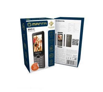 Manta Multimedia TEL92411 Szary
