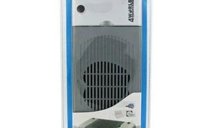 4World Podkładka chłodząca do notebooka mobilna 1 wentylator orgnizator kabli