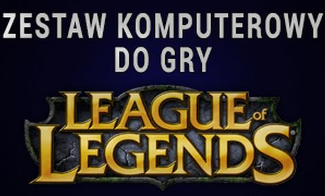 Zestaw Komputerowy Do Gry League Of Legends
