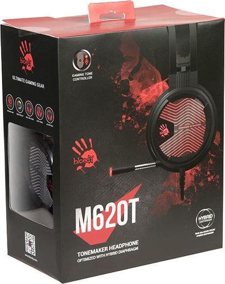 A4 Tech dla graczy BLOODY M620T 7.1 Black/Red USB